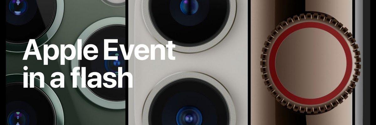 Apple Event in a flash: Tutto l'evento Apple in due minuti!