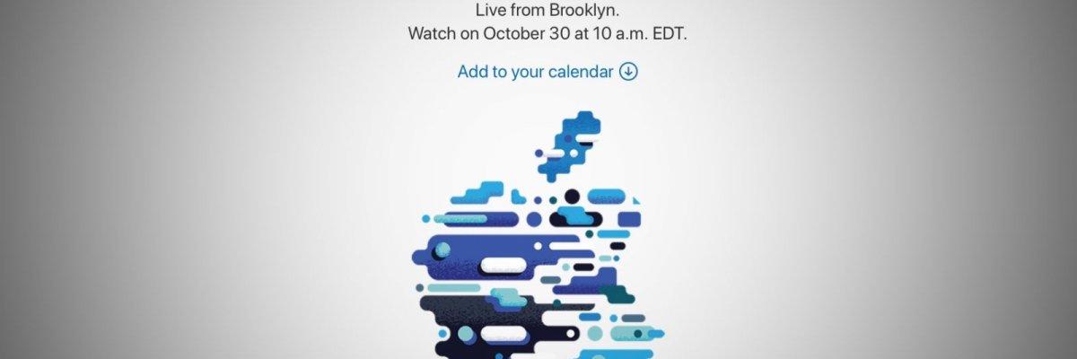 Apple Event il 30 Ottobre a NYC!