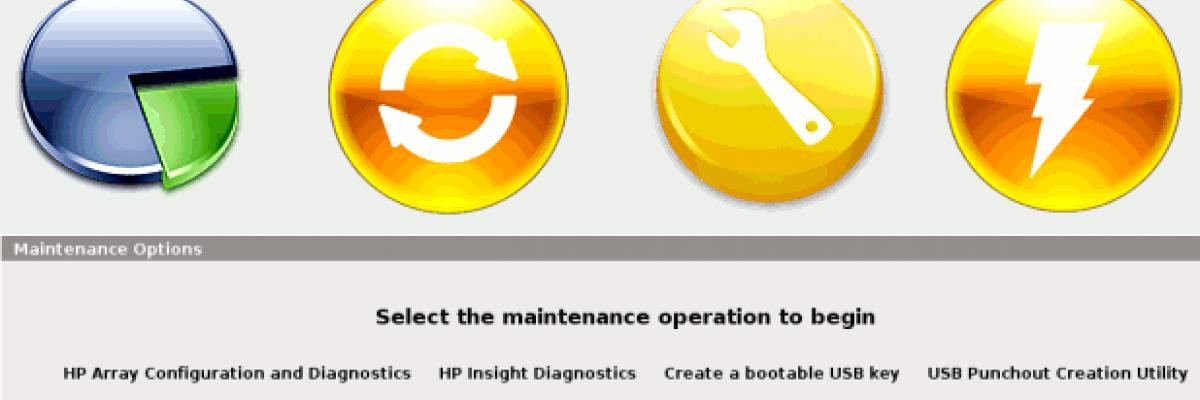HPE SmartStart Tutorial Configurazione SmartArray e Disco Logico